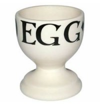 Black Toast Egg Cup