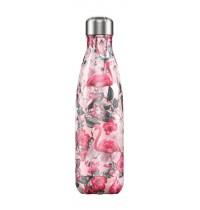 Chilly's 500ml Flamingo Print Bottle