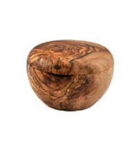 Olive Wood Sugar / Salt Pot