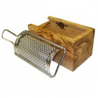 Olive Wood Parmesan / Cheese Grater in box - Small