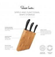 Robert Welch Prism Oak Knife Block Set