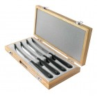 Robert Welch Signature Steak Knives x 4 (wooden case)