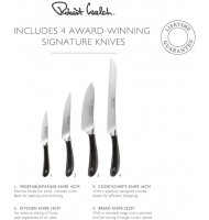Robert Welch Signature Q ASH Knife Block Set